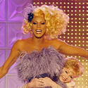 RuPaul, left  |  Drag superstar / reality show host