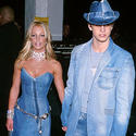 Britney Spears, Justin Timberlake, denim