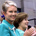 Cindy McCain, Laura Bush