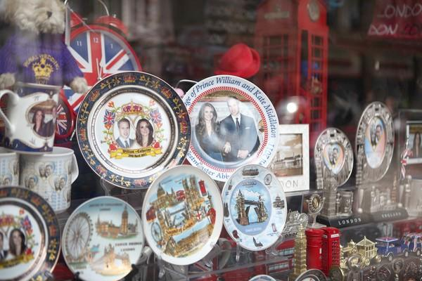 <i>By Whitney Friedlander, Los Angeles Times</i><br> <br> Does it get any more tchotchke than this? Royal wedding souvenir plates like the ones pictured here are a dime a dozen in London right now. And they might actually cost that much after Prince William marries longtime steady Kate Middleton on April 29 at Westminster Abbey.<br> <br> But don't think these are the only ways to bring a piece of royal history into your own flat. Read on to find out what other material possessions are now branded with the smiling faces of the happy couple.