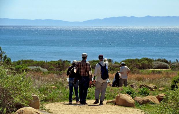 Carpinteria Bluffs is a 52-acre preserve just off Highway 101 near Santa Barbara with views of the Channel Islands. The land is protected through the Land Trust for Santa Barbara County.
