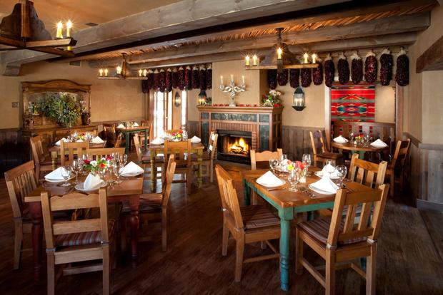 In the upscale Tia's Cocina restaurant at Hotel Chimayo, executive chef Estevan Garcia replicates dishes his aunt and grandmother used to make.