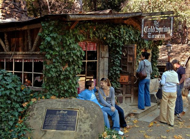 Cold Spring Tavern, a rustic old stagecoach stop tucked alongside Cold Spring Canyon, serves powerful chili and brew, with live music, as well as fancier fare in the candle-lighted restaurant.