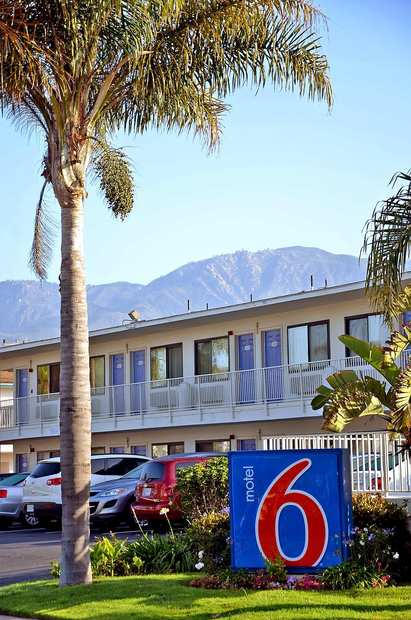 The first Motel 6, still stands at East Beach, Santa Barbara.