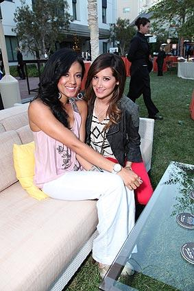 Heather Hemmens, left, and Ashley Tisdale.