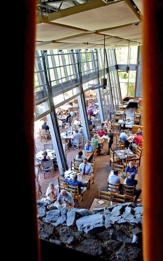 The Stone Brewing Company's World Bistro & Gardens serves craft brews, food and fun.