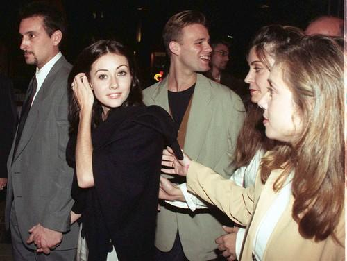 "<b>October 1995 </b><br> <br> In her post-""90210"" life, one early effort is playing Jason Lee's ex-girlfriend in ""Mallrats.""<br> <br> ""I got to work with Kevin Smith,"" said Doherty about this time in her career. ""I got to do work that was really, to me, fulfilling."""
