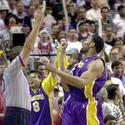 <b>20. Robert Horry vs. Philadelphia 76ers, Game 3 NBA Finals, June 10, 2001.</b>