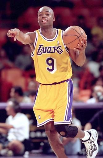 Nick Van Exel was taken 37th overall by the Lakers in the 1993 draft.