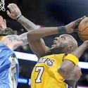 32. Lamar Odom vs. Denver Nuggets, Game 5 Western Conference finals, May 27, 2009.