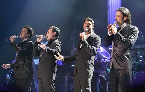 "<B>Back to basics</B><br> <br> When he was not on-screen, terrorizing wanna-be idols, Simon was creating his own pop-opera wondergroup, ""Il Divo.""  The group, comprised of four male singers of different nationalities, released its debut album in 2005."