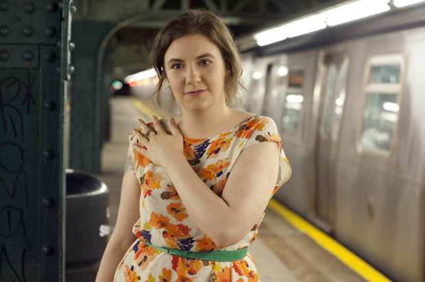 "Lena Dunham in ""Girls."""