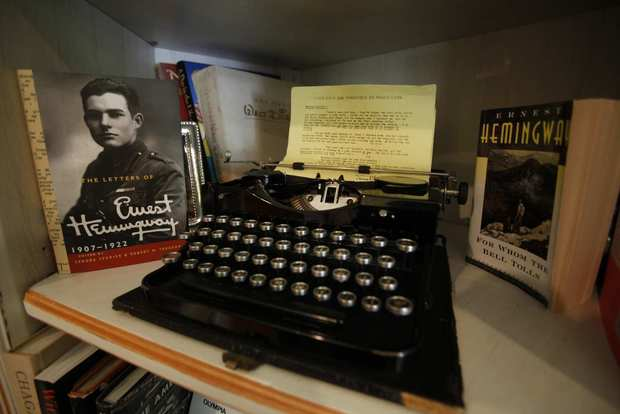 L.A. civic leader Steve Soboroff's collection includes a typewriter used by Ernest Hemingway.