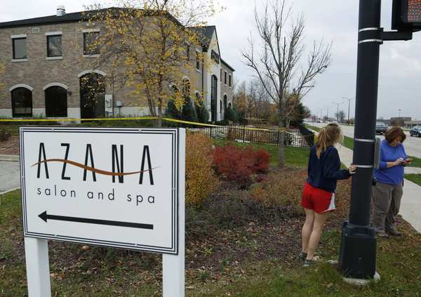 Azana Spa was the site of Sunday's deadly shooting. The shootings caused chaos in the spa, a 9,000-square-foot building with many small treatment rooms.