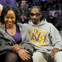 Snoop Dogg and wife