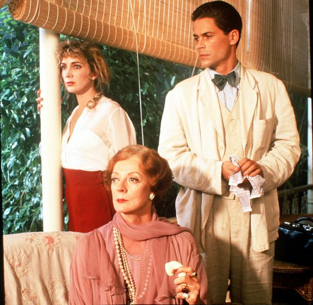 "Maggie Smith stars with Natasha Richardson and Rob Lowe in a television adaptation of Tennessee Williams' play ""Suddenly, Last Summer"" that aired in the United States as a PBS ""Great Performances"" episode. Smith was nominated for an Emmy Award for actress in a miniseries or TV movie."