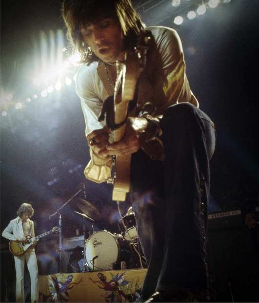 "Keith Richards in 1972 during the ""Exile on Main St."" tour."