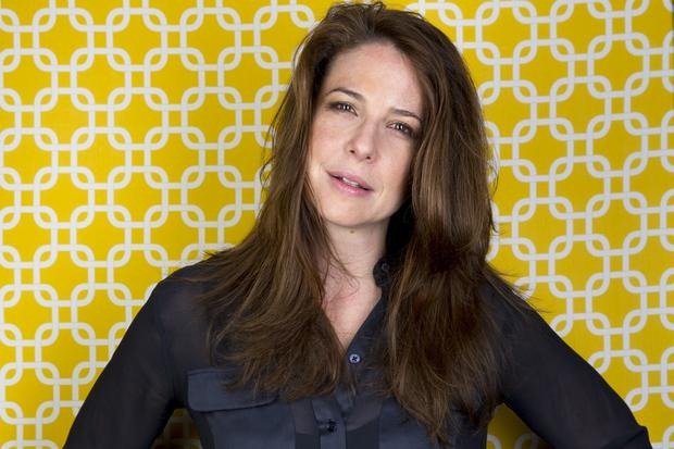 "Actress Robin Weigert of the film ""Concussion."""