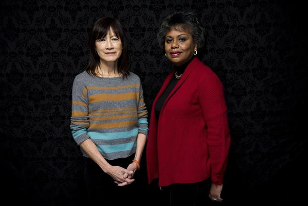 "Director Frieda Mock, left, and Anita Hill, subject, of the documentary ""Anita."""