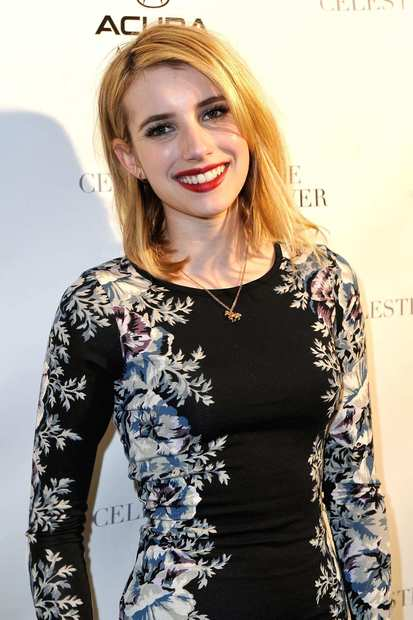 "Emma Roberts, the star of ""Celeste and Jessse Forever,"" arrives at a Park City, Utah, party to celebrate the film's Sundance screening."