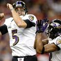 Joe Flacco, Jacoby Jones