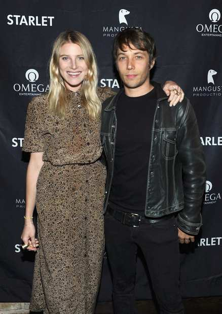 "Dree Hemingway and writer-director Sean Baker attend the ""Starlet"" after-party."
