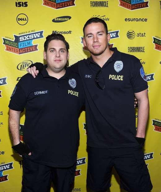 """21 Jump Street"" costars Jonah Hill, left, and Channing Tatum."