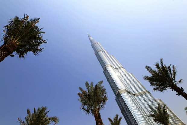 The Burj Khalifa, which debuted in 2010, is the world's tallest structure. It stands 2,717 feet high and has 163 floors.