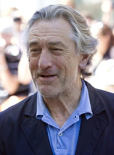 "Robert De Niro arrives at the gala for ""Killer Elite."""