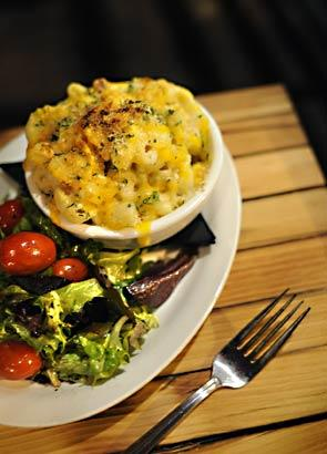 One of the popular dishes at 47 Scott is the mac and cheese.