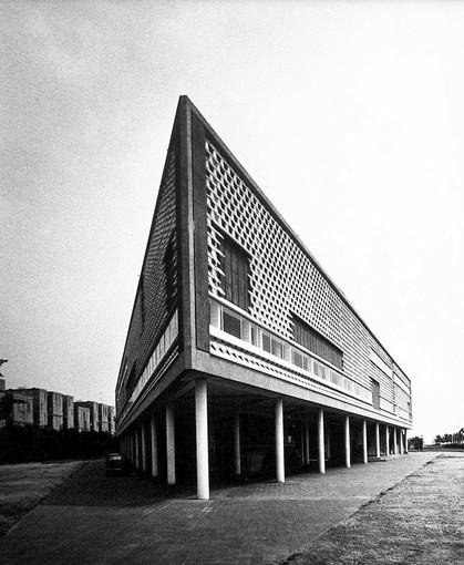 The National Theater in Phnom Penh , completed in 1968 and demolished in 2008.
