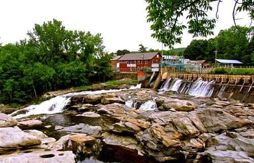 Shelburne Falls on the road to Williamstown, Mass.