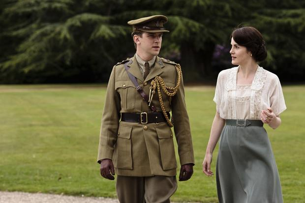 "The die-hard ""Downton"" fans have likely already downloaded third-season episodes after they aired in the U.K. last fall -- but for the technically challenged (or those without enough memory on their hard drives to do so), there's always PBS. When we left off, Matthew Crawley, left, was off being a soldier in the Battle of the Somme. And his on-again, off-again relationship with Lady Mary, right, seemed doomed when he returned with a new fiance -- but she would die from the Spanish flu (phew!) and Matthew would become temporarily paralyzed after getting caught up in a blast on the frontlines. Minor road blocks to the on-again nuptials between Matthew and Mary."