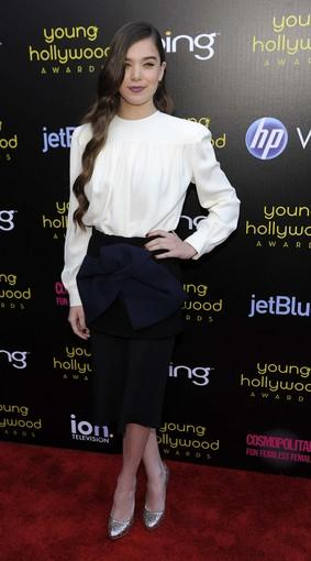 "Hollywood's hottest young stars gathered in Los Angeles on Friday night for the 13th Annual Young Hollywood Awards. Among this year's recipients was ""True Grit"" breakthrough star Hailee Steinfeld."