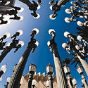 "Chris Burden's ""Urban Light"" sculpture"