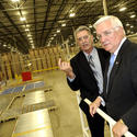 Pictures: Gov. Corbett visits new Pratt Industries plant