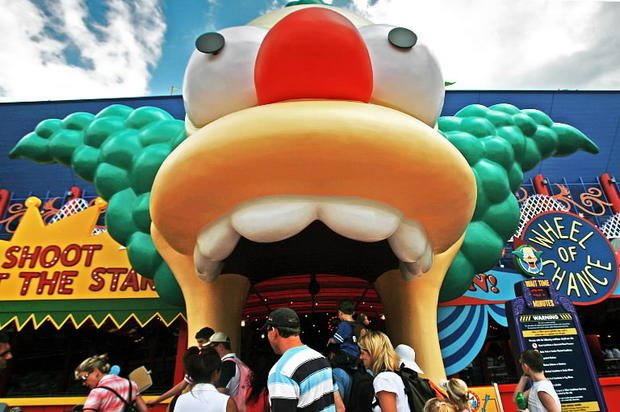 "No. 22 on <b><a href=""/orl-top-50-orlando-attractions-photos,0,376363.photogallery"">Dewayne Bevil's Top 50 Orlando Theme Park Attractions</a></b>. The Simpsons Ride, Universal Studios. Disorienting simulator romps through Springfield and incorporates many characters and locations from the long-running animated series. <b><a href=""/orl-top-50-orlando-attractions-poll,0,4897108.poll"">Be sure to vote for your favorite...</a></b>"