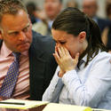 Casey Anthony in court.