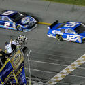 Ryan Newman wins the 2008 Daytona 500