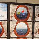 Virtual portholes on the Disney Dream