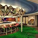 Disney Fantasy renderings -- La Piazza at Europa