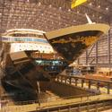 Construction Of the Disney Dream cruise ship