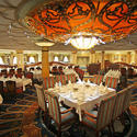 Disney Dream -- Royal Palace restaurant