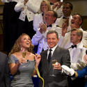 Disney Fantasy christening -- godmother Mariah Carey