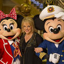 Disney Fantasy christening -- Nancy Grace