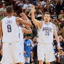 Cleveland Cavaliers at Orlando Magic: Hedo Turkoglu, Rashard Lewis