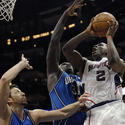 Magic at Hawks: Hedo Turkoglu, Adonal Foyle, Joe Johnson