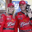 Kevin Harvick and his wife, DeLana