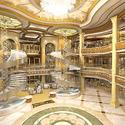 Princess Cruises new Royal Princess -- Atrium