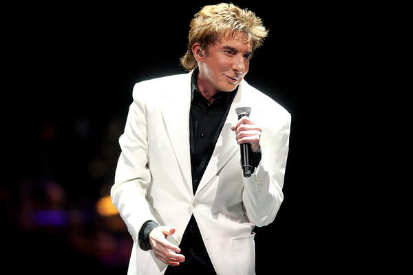 Barry Manilow performs at the Amway Center in Orlando, FL on January 20, 2011.